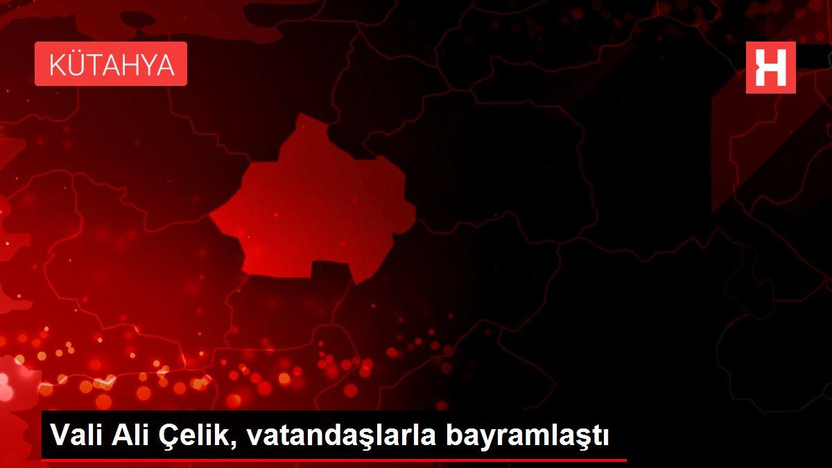 Vali Ali Çelik, vatandaşlarla bayramlaştı