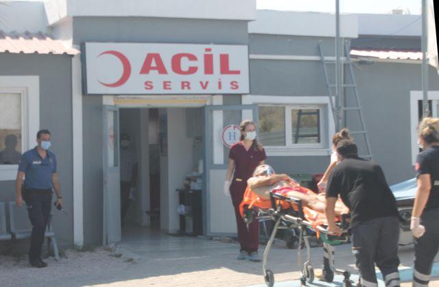 Adana'da denizde boğulma tehlikesi geçiren kişi hastaneye kaldırıldı