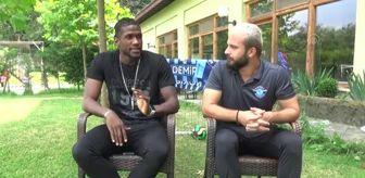 Balotelli: Adana Demirspor'un defans oyuncusu Rassoul: 'Sezonu en azından 3. olarak bitirmek istiyoruz'
