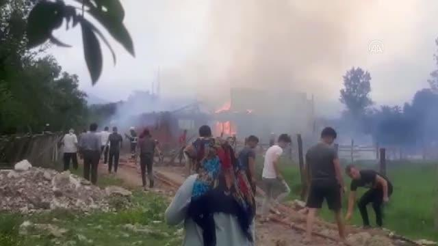 Son dakika haberleri | Hayvan besi çiftliğinde yangın