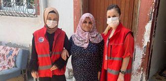Vefa Sosyal Destek Grubu: Karabük'te evinde tek başına yaşayan yaşlılar bayramda unutulmadı