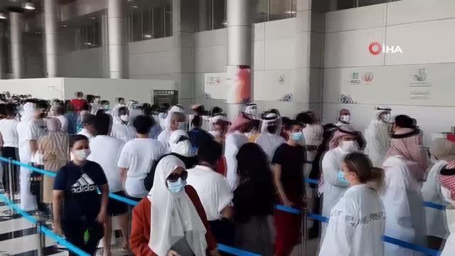 Son dakika haberleri | Kuveyt, 12-15 yaşındaki çocukları aşılamaya başladı