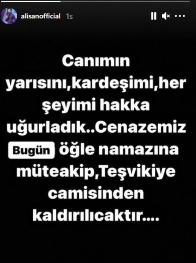 Son Dakika: Cumhurbaşkanı Erdoğan, kardeşini kaybeden sanatçı Alişan'ı arayarak başsağlığı diledi
