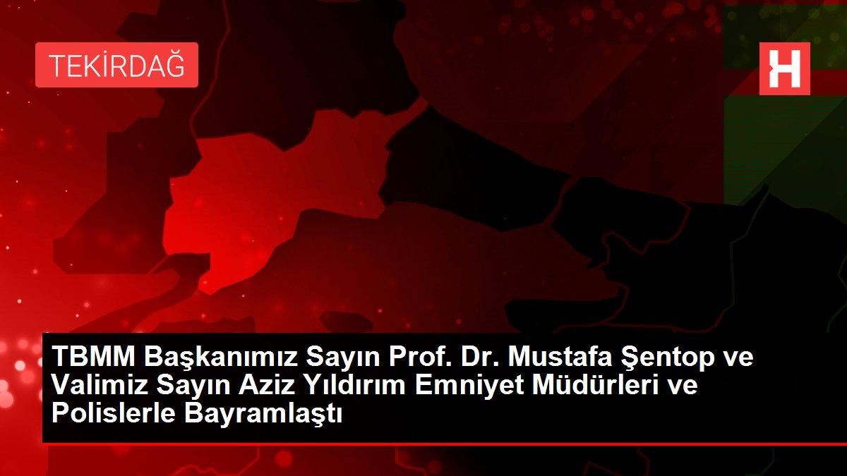 TBMM Başkanımız Sayın Prof. Dr. Mustafa Şentop ve Valimiz Sayın Aziz Yıldırım İl Jandarma Komutanlığı'nda Görevli Personelle Bayramlaştı