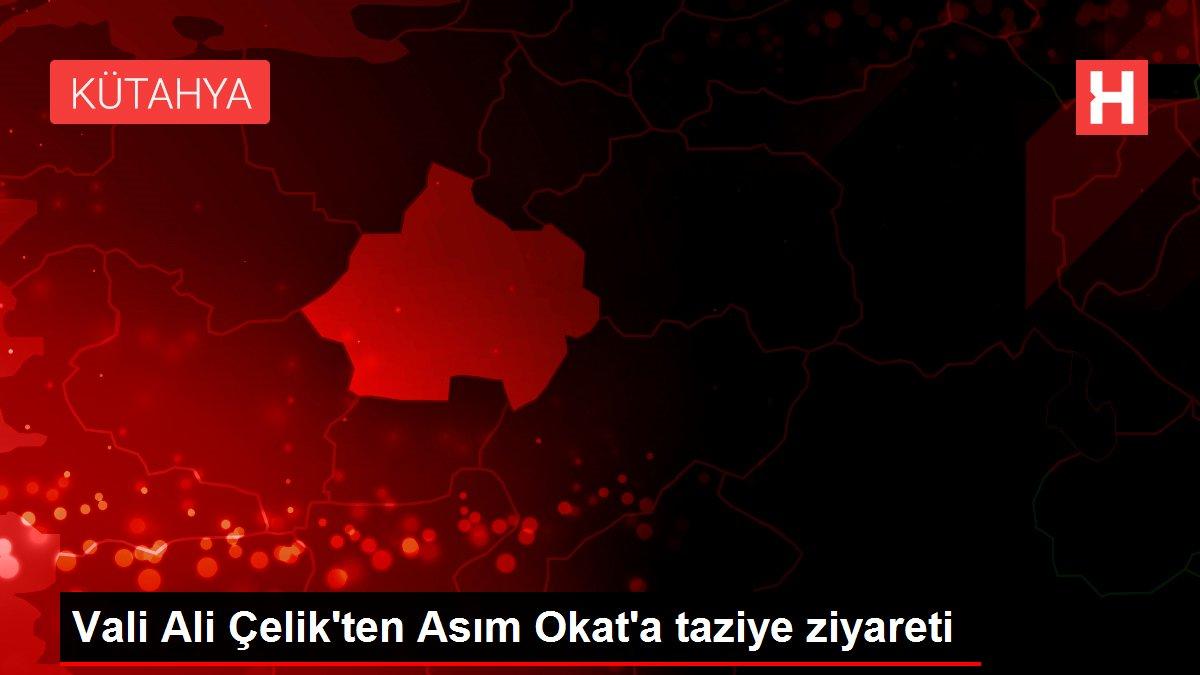 Vali Ali Çelik'ten Asım Okat'a taziye ziyareti