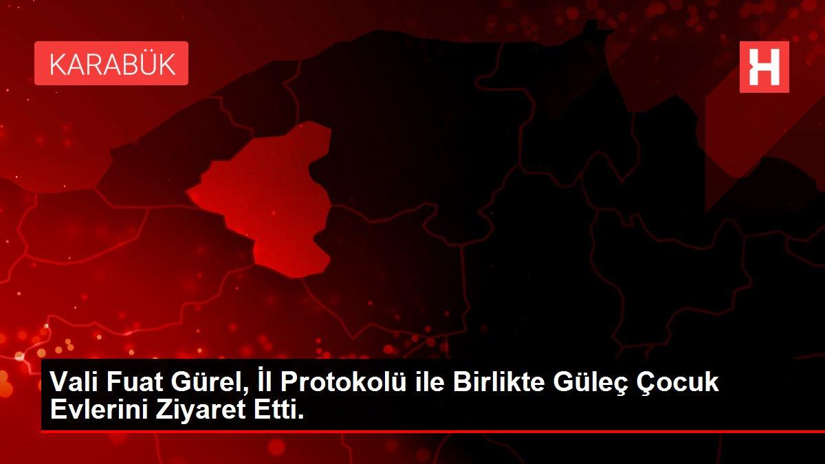 Vali Fuat Gürel, İl Protokolü ile Birlikte Güleç Çocuk Evlerini Ziyaret Etti.