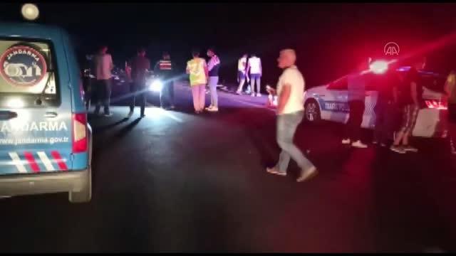 AFYONKARAHİSAR - 5 aracın karıştığı trafik kazasında 4 kişi yaşamını yitirdi