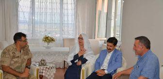 Ahmet Sav: Ergani Kaymakamı Abdulselam Öztürk şehit aileleri ve gazileri ziyaret etti
