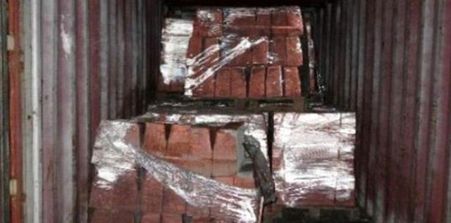 Filmlere konu olacak dolandırıcılık! Türkiye'den Çin'e 36 milyon dolarlık bakır görünümlü kaldırım taşı gönderdiler