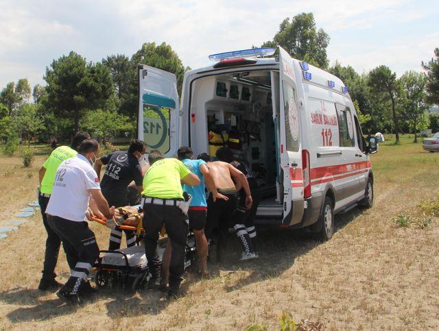 Sinop'ta denizde boğulma tehlikesi geçiren 2 kişi kurtarıldı
