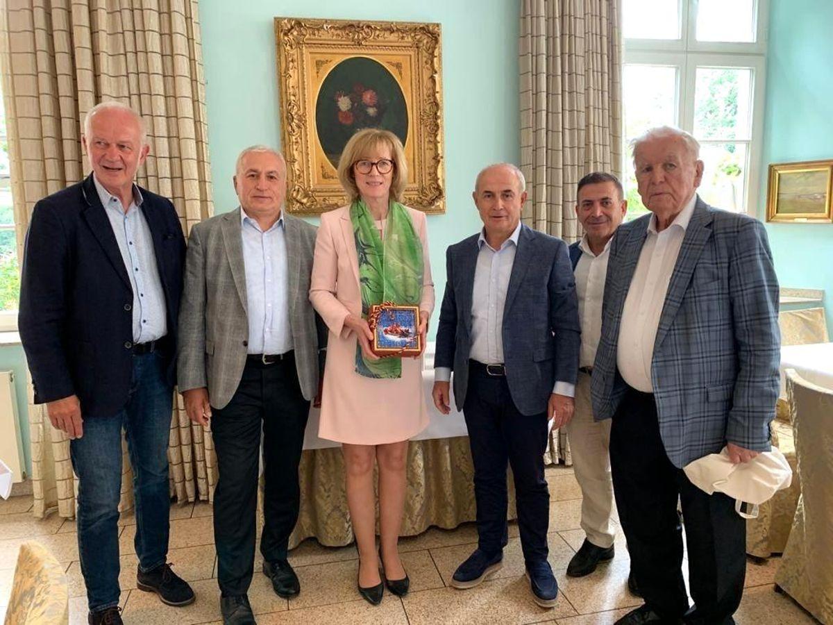 Büyükçekmece'den, kardeş şehir Gelsenkirchen'e destek