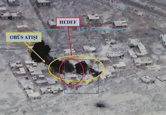 Son Dakika! Fırat Kalkanı bölgesinde 2 askerimizi şehit eden teröristlerden 7'si etkisiz hale getirildi