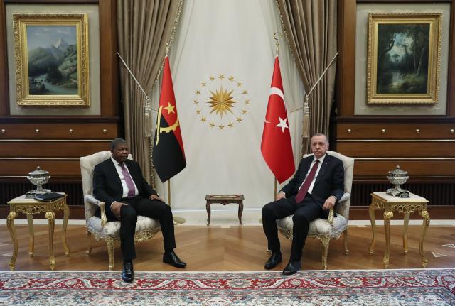 Cumhurbaşkanı Erdoğan: Angola ile ticaret hacmi hedefimiz ilk etapta 500 milyon dolara ulaşmak