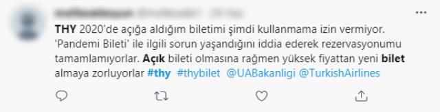 Türk Hava Yolları'na 'açık bilet' tepkisi! Vatandaşlar yaşanan mağduriyetler sonrası isyan etti
