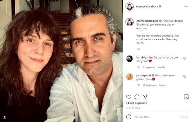 Memet Ali Alabora ile Pınar Öğün boşandı