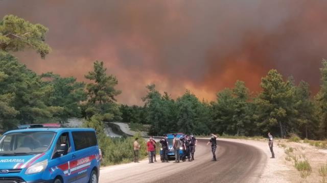 Son Dakika: Manavgat'ta 4 ayrı noktada orman yangını çıktı! 3 mahalle boşaltıldı, alevler benzin istasyonuna ulaşabilir