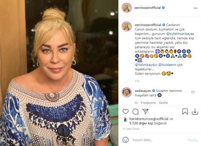 Instagram'dan son halini paylaşan Zerrin Özer'i görenler tanıyamadı