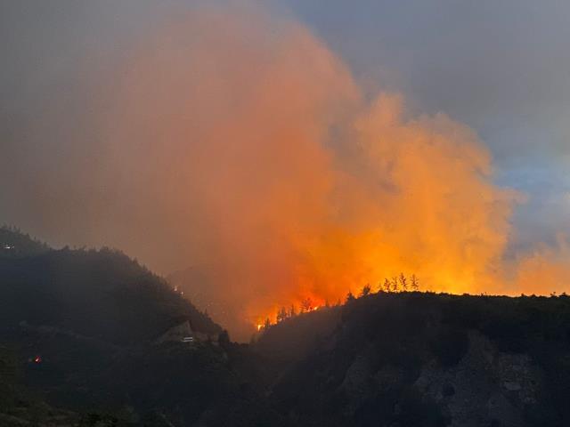 Türkiye için felaket günü! Antalya'dan sonra 5 şehirde daha yangın çıktı