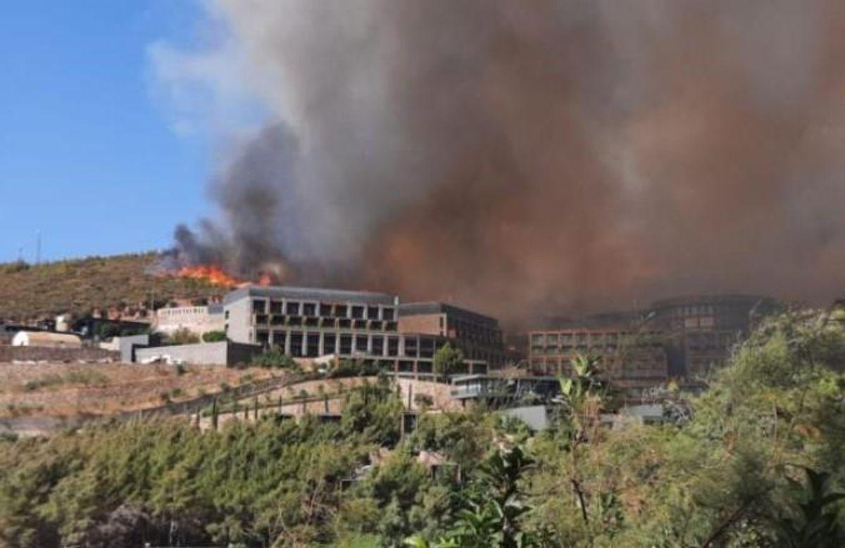 Bodrum yangını söndürüldü mü? Bodrum yangını son durum ne? Bodrum'daki yangın söndü mü?