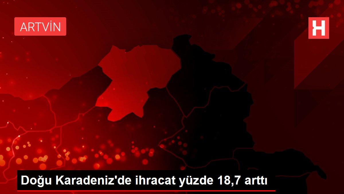 Doğu Karadeniz'de yılın 6 ayında ihracat yüzde 18,7, ithalat yüzde 20,7 arttı