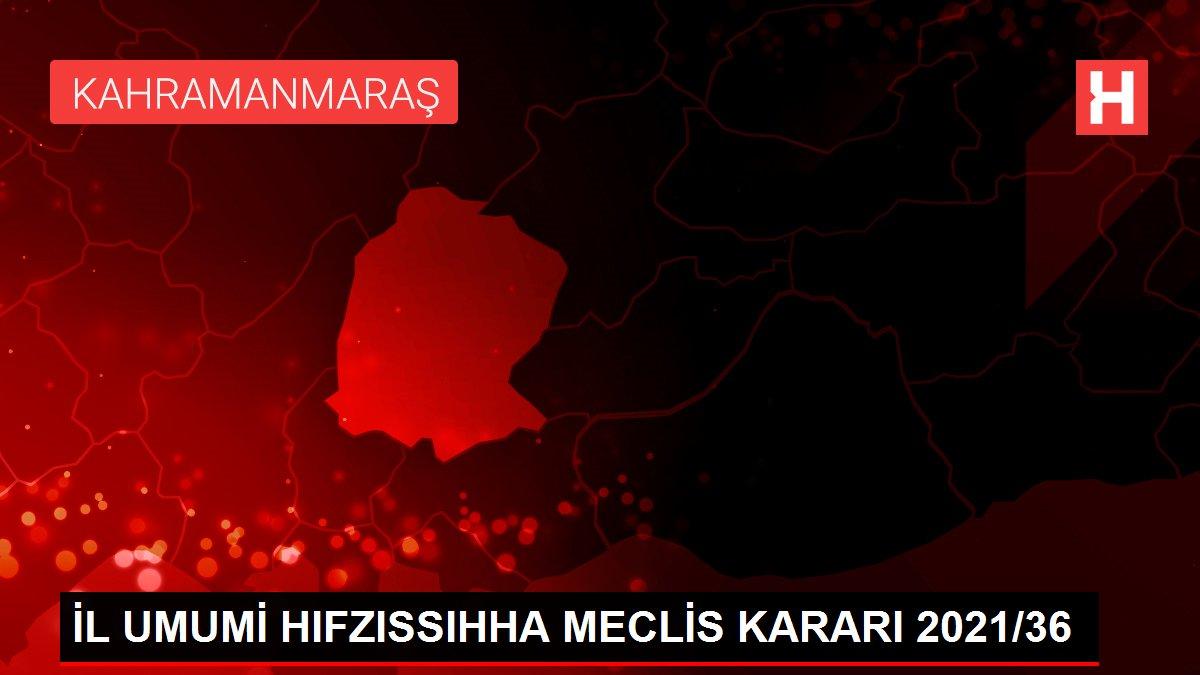 İL UMUMİ HIFZISSIHHA MECLİS KARARI 2021/36