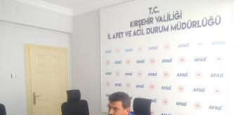 Deprem: Kırşehir BOTAŞ çalışanlarına çevrimiçi afet farkındalık eğitimi verildi