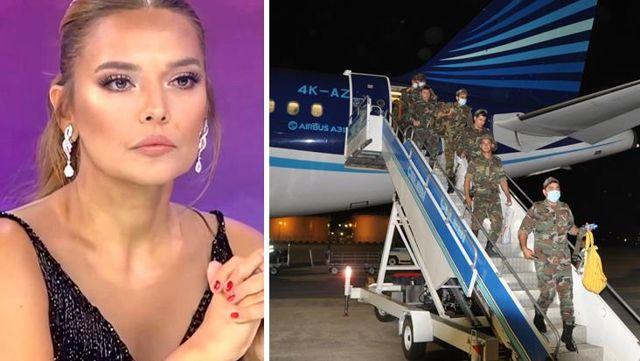 'Azerbaycan yangın uçağı gönderdi mi?' diyen Demet Akalın'a Azerbaycanlı takipçisinden sert cevap: Önce ülkenin adını doğru yazın