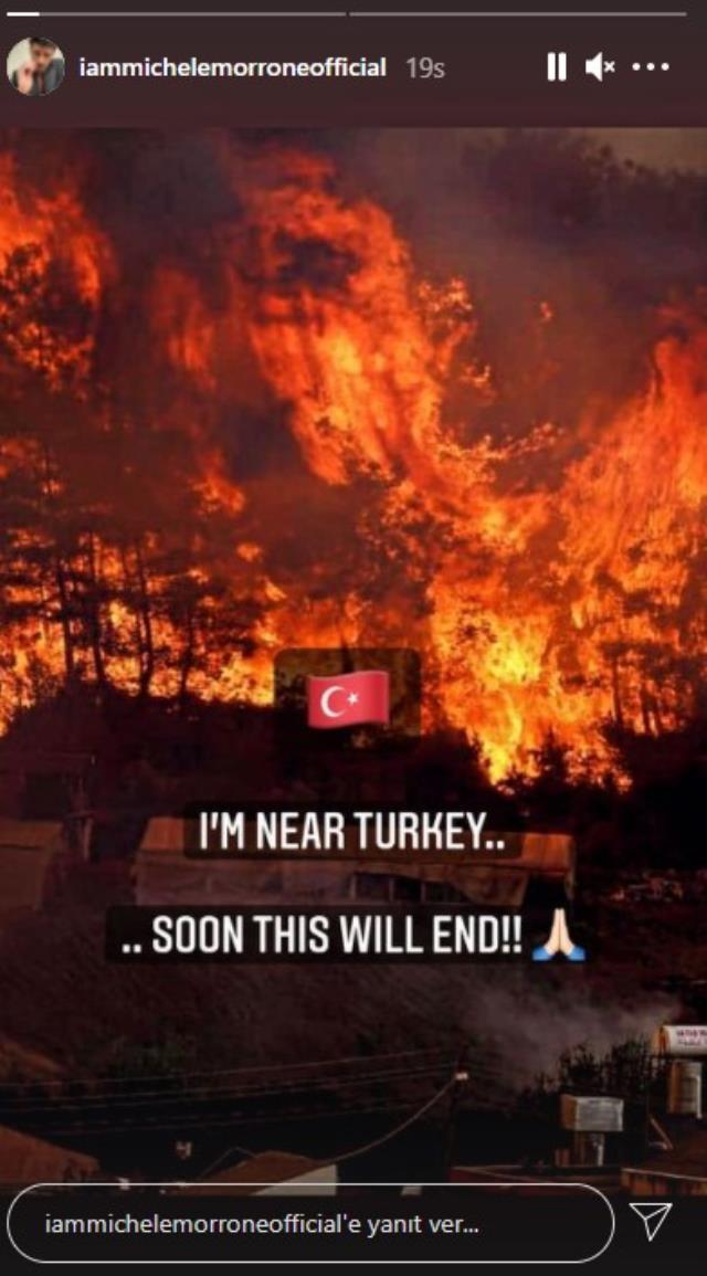 Dua Lipa ve Michele Morrone, Türkiye'deki yangınlara sessiz kalamadı