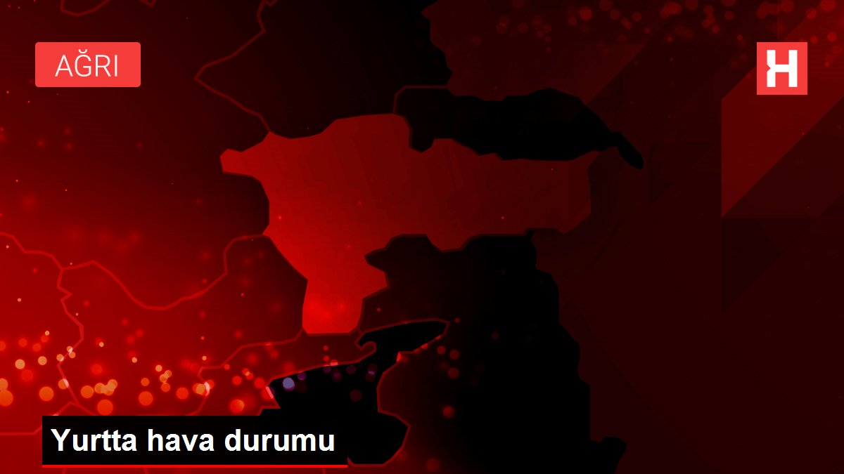 Orta ve Doğu Karadeniz ile Doğu Anadolu'da yarın sağanak etkili olacak