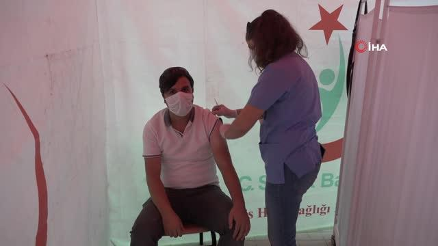 Tatvan'da örnek aşı kampanyası