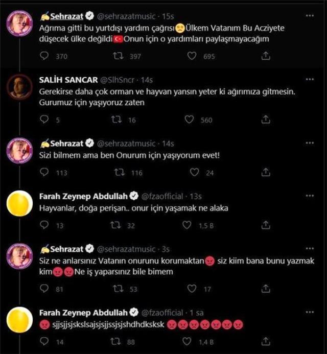 Ünlü sanatçı Nilüfer de 'Help Turkey' etiketine tepki gösterdi