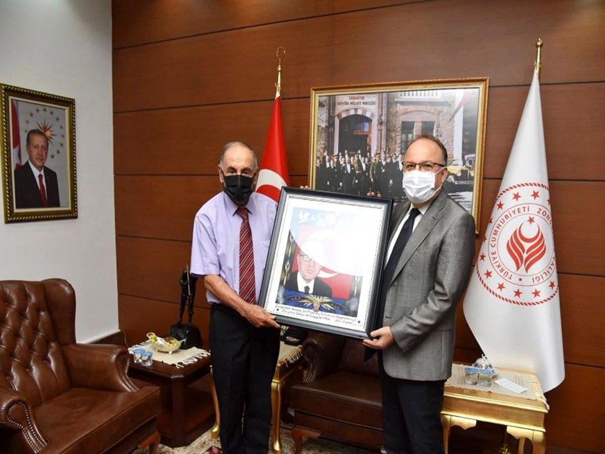 Vali Mustafa Tutulmaz'a Ziyaretler Sürüyor