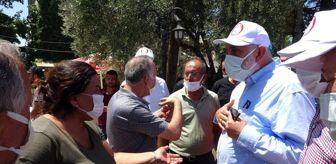 Süreyya Sadi Bilgiç: TBMM Başkanvekili Bilgiç'ten evi yanan vatandaşa: 'Devlet sizsiniz, sizin beyanınız esastır'