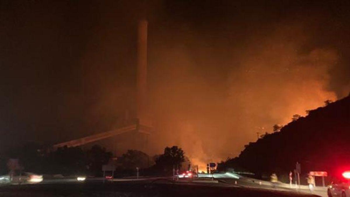 Termik santralde yangın! 4 Ağustos Çarşamba Kemerköy Termik Santrali'nde yangın mı çıktı? Yangın termik santrale sıçrarsa ne olur?