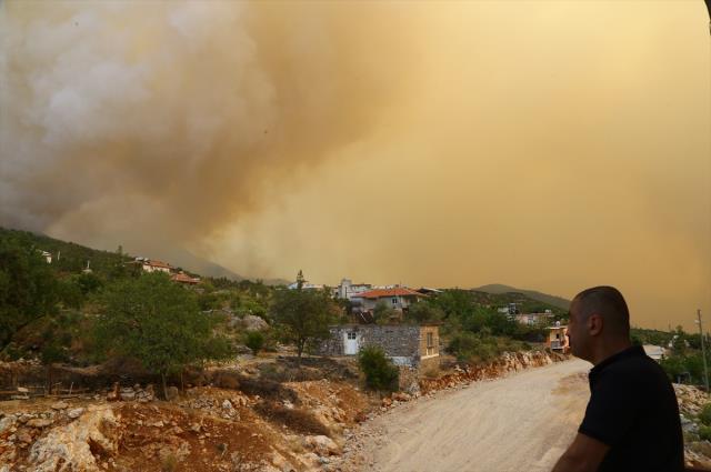 Yangınların 8. gününde listeye Balıkesir de dahil oldu! İşte il il son durum