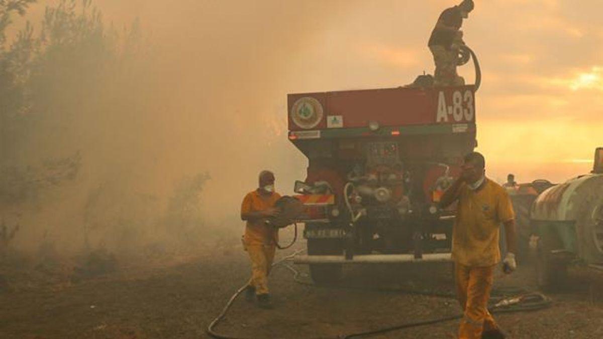 Denizli yangın! 5 Ağustos Denizli'de yangın mı çıktı? Denizli'nin neresinde yangın çıktı?