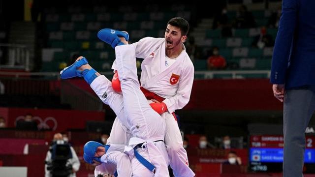 Eray Şamdan, Olimpiyat tarihimizde karatedeki ilk madalyayı getirdi