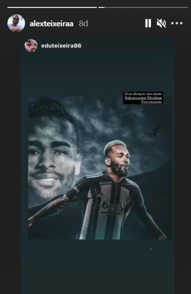 Son Dakika: Beşiktaş'ın uzun süredir peşinde koştuğu Alex Teixeira, Siyah-Beyazlı formayı giydi