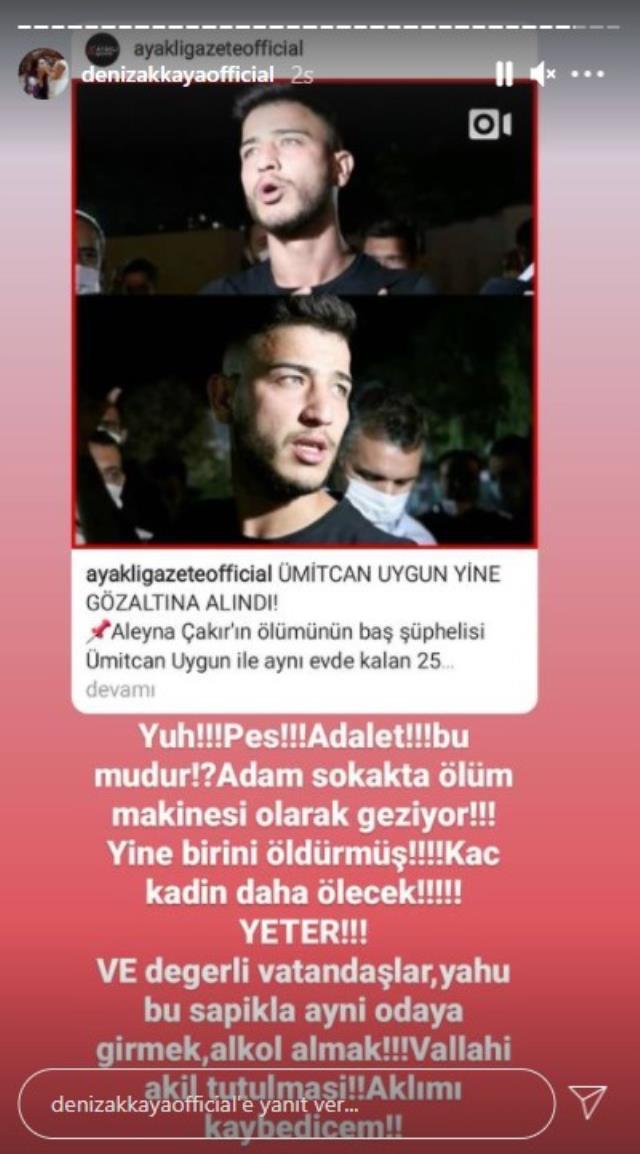 Ünlü isimler, ikinci kez kadın cinayeti iddiasıyla gözaltına alınan Ümitcan Uygun'a tepki gösterdi