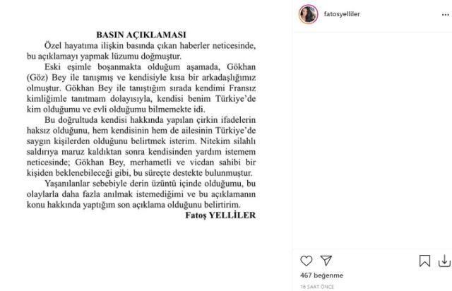 Fatoş Yelliler'den yasak aşk itirafı: Berdan Mardini ile boşanma aşamasında Gökhan ile arkadaşlığımız başladı