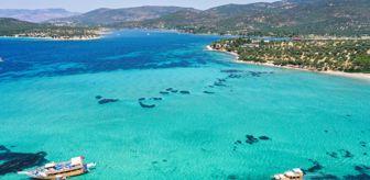 Bademli: Tropik adaları aratmayan Dikili'nin eşsiz koyları ziyaretçileri cezbediyor