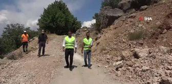 Mehmet Güder: Tunceli'nin dikkat çeken kaya konutları 'İn delikleri' için ilk adım atıldı