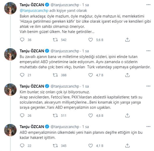 Bolu Belediye Başkanı Tanju Özcan, kendisine hakaret eden Afgan göçmen Saadat için 'köpek' ifadesini kullandı