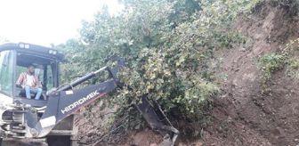 Gürgentepe: Ordu'da 3 günlük yağışta 255 heyelan