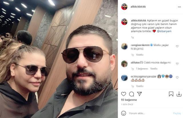 Ali Küçükbalçık'tan eşi Kibariye'nin doğum gününe özel paylaşım: İyi ki benim hanım ağamsın