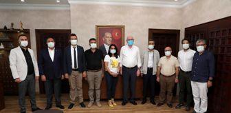 Ahmet Ertürk: Efeler Belediyesi Başkan Kurt'u ziyaret etti