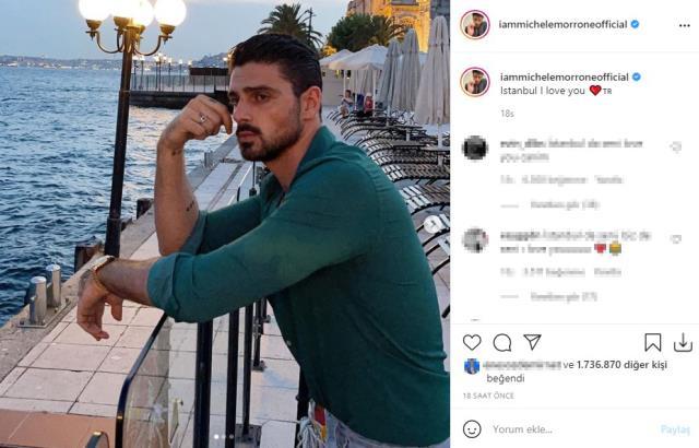 Oyuncu Michele Morrone, meme ucu operasyon geçirmek için Türkiye'ye geldi