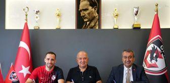 Ahmet Fikret: Stelios Kitsiou Gaziantep FK'da