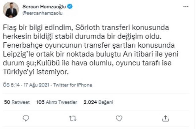 Sörloth transferinde sıcak gelişme! Fenerbahçe, Leipzig ile prensipte anlaşmaya vardı