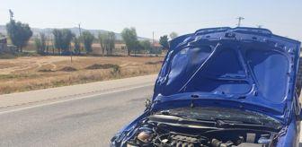 Kusura: Afyonkarahisar'da otomobil ile motosiklet çarpıştı: 1 ölü, 1 yaralı